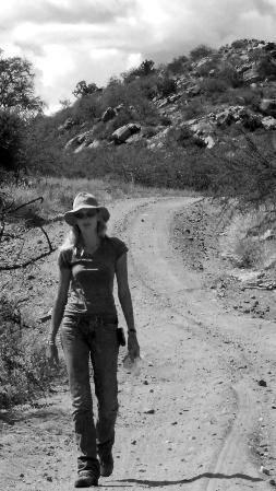 Bug Girl walking
