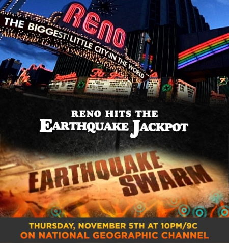 Naked Science: Reno Earthquake Swarm